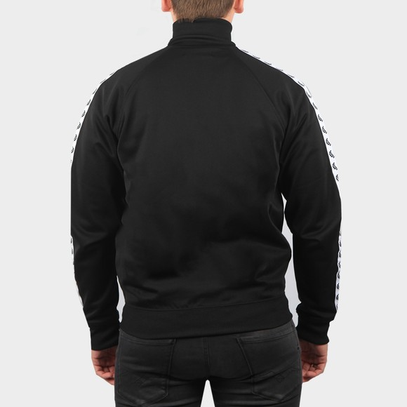 Fred Perry Mens Black Taped Track Jacket main image