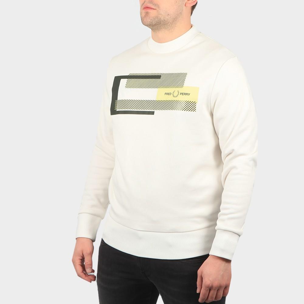 Mixed Graphic Sweatshirt main image