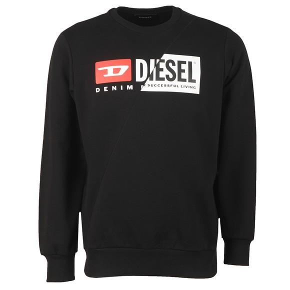 Diesel Mens Black Cuty Sweatshirt