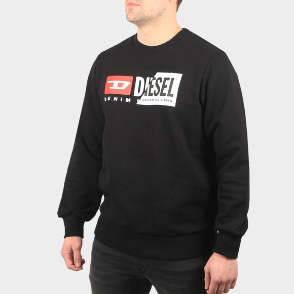 Diesel Mens Black Cuty Sweatshirt main image