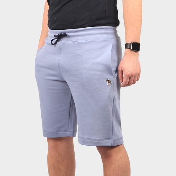 PS Paul Smith Mens Blue Zebra Sweat Shorts