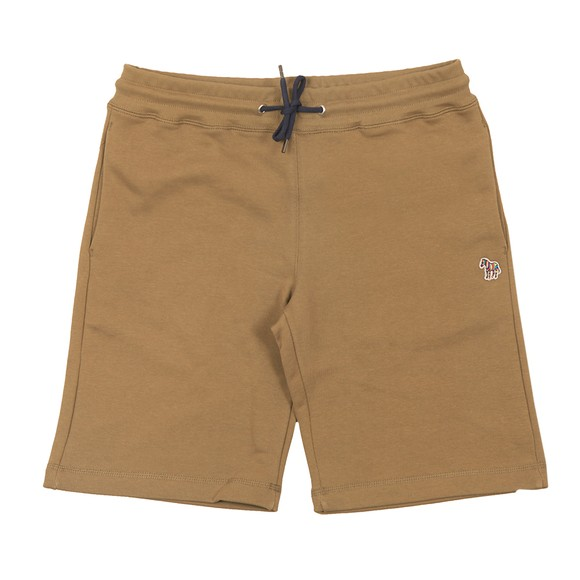 PS Paul Smith Mens Green Zebra Sweat Shorts