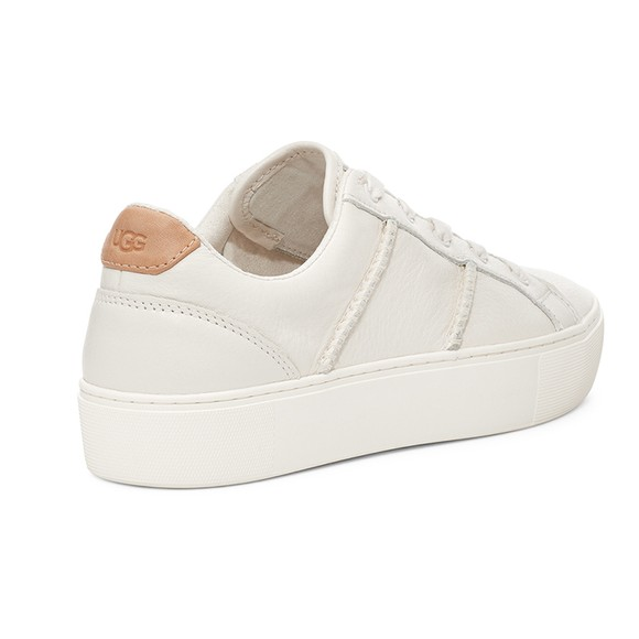 Ugg Womens White Dinale Trainer main image