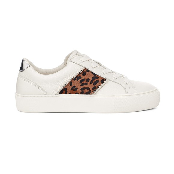 Ugg Womens White Dinale Exotic Trainer