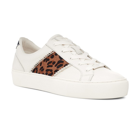 Ugg Womens White Dinale Exotic Trainer main image