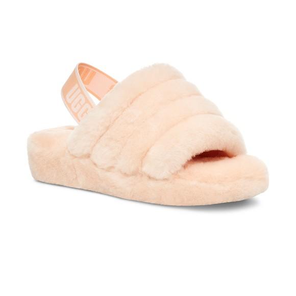 Ugg Womens Pink Fluff Yeah Slide