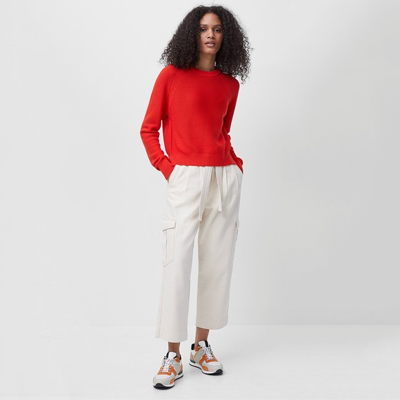 French Connection Womens Red Lily Mozart Jumper main image