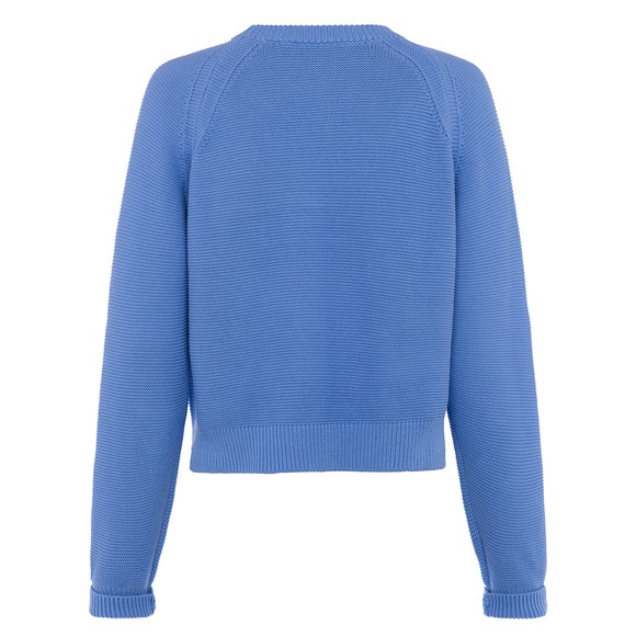 French Connection Womens Blue Lily Mozart Jumper main image