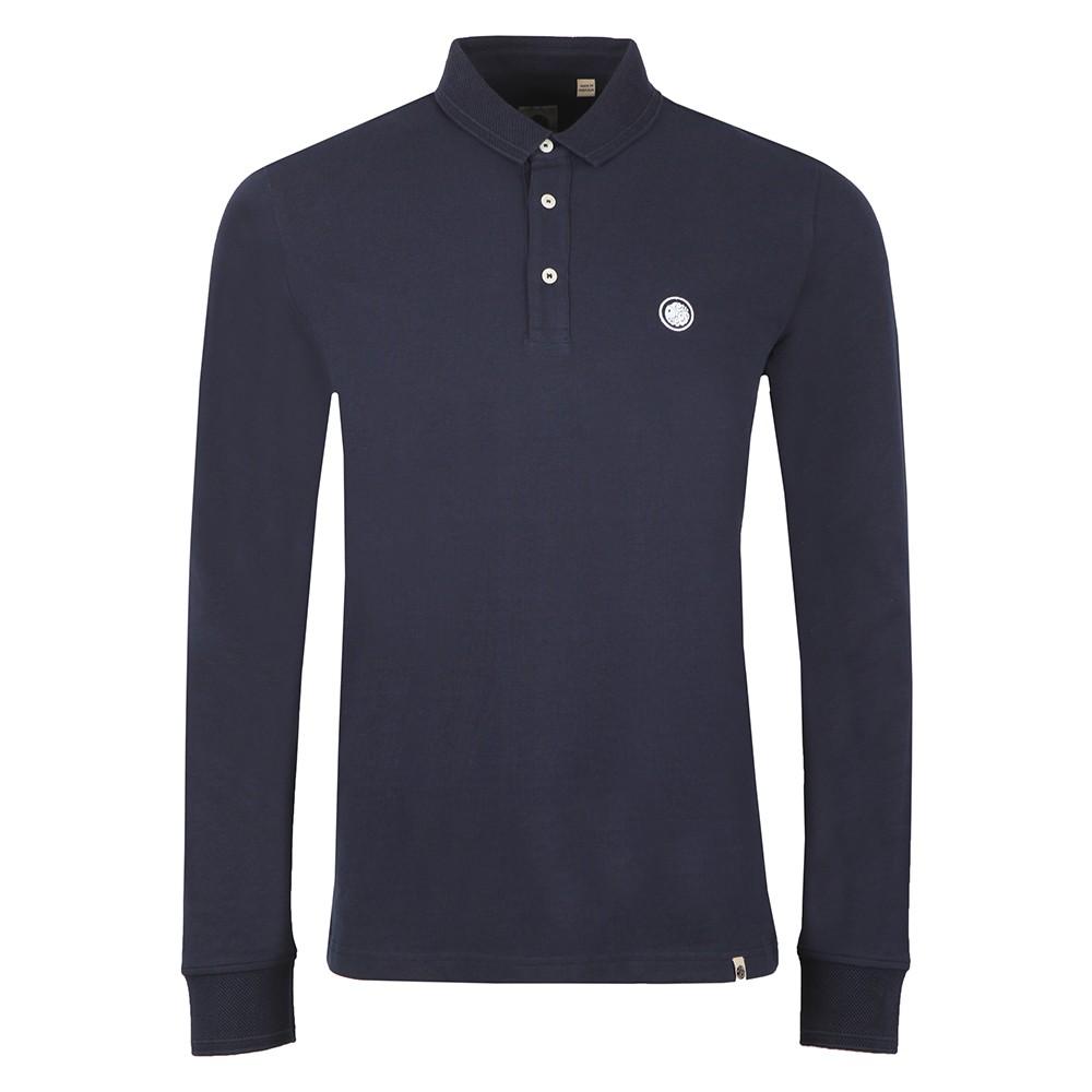 Heavyweight Long Sleeve Polo Shirt main image