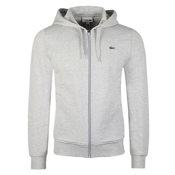 Lacoste Sport Mens Grey SH1551 Zip Hoody