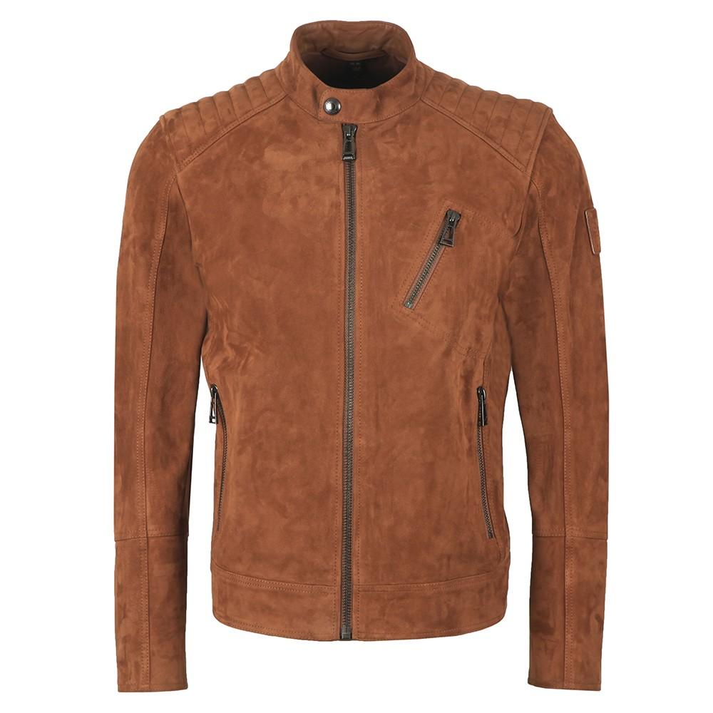 V  Racer Leather Blouson main image