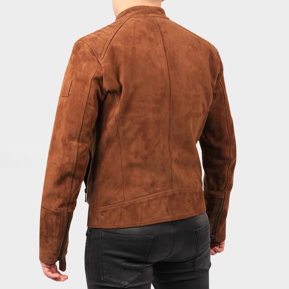 Belstaff Mens Brown V  Racer Leather Blouson main image