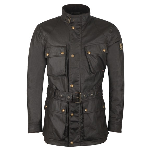 Belstaff Mens Brown Trialmaster Wax Jacket