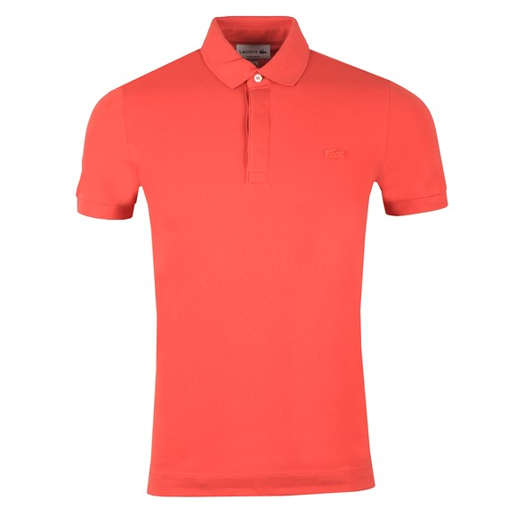 Lacoste Mens Red PH5522 Paris Polo Shirt