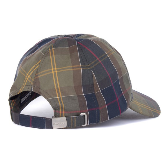 Barbour Lifestyle Mens Green Tartan Cap
