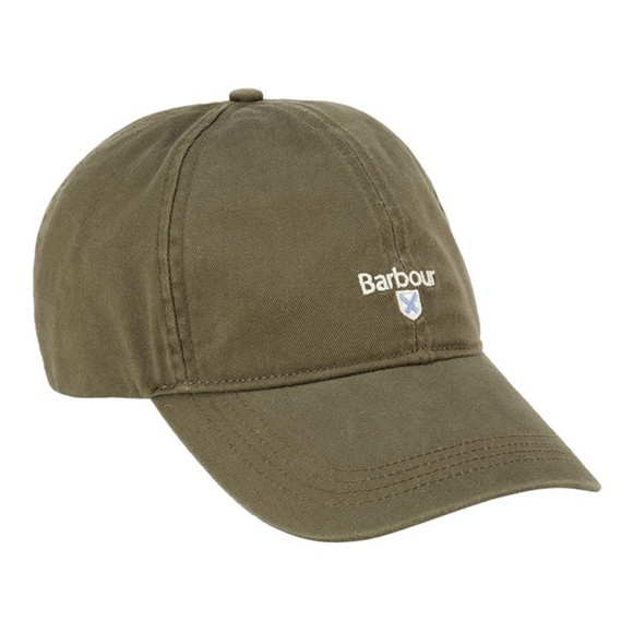 Barbour Lifestyle Mens Green Cascade Sports Cap