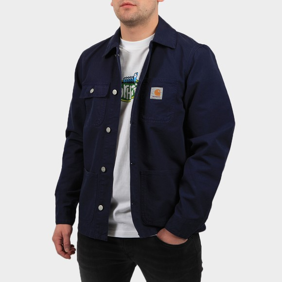 Carhartt WIP Mens Blue Michigan Chore Coat