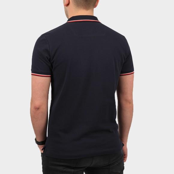 Diesel Mens Blue New Randy Tipped Polo Shirt main image