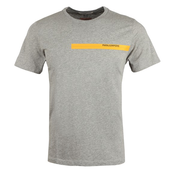Parajumpers Mens Grey Tape T Shirt