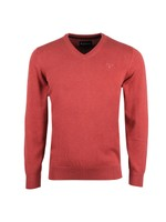Pima Cotton V Neck Jumper