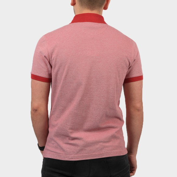 Barbour Lifestyle Mens Pink Sports Mix Polo Shirt main image