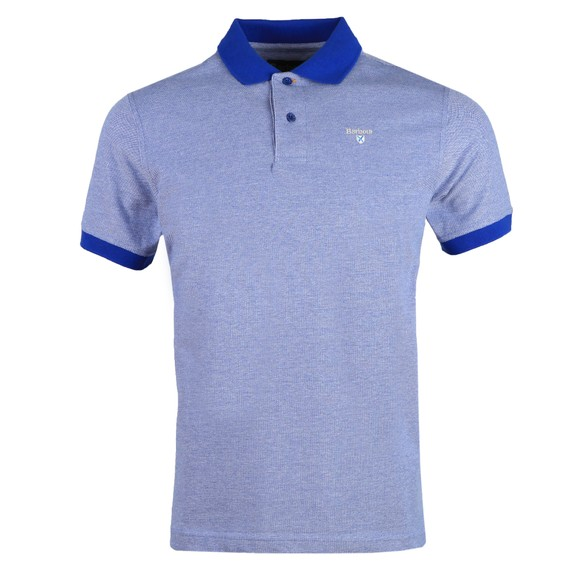 Barbour Lifestyle Mens Blue Sports Mix Polo Shirt