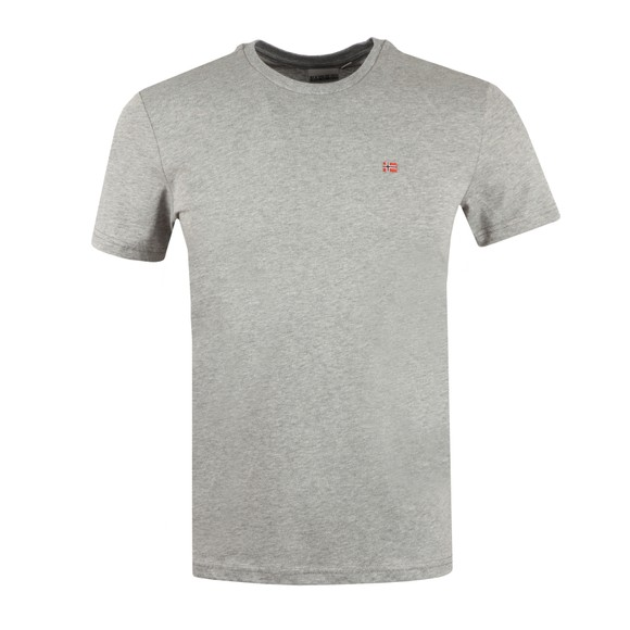 Napapijri Mens Grey Salis T Shirt