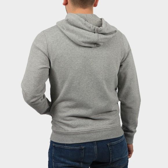 Belstaff Mens Grey Patch Logo Zip Hoody main image