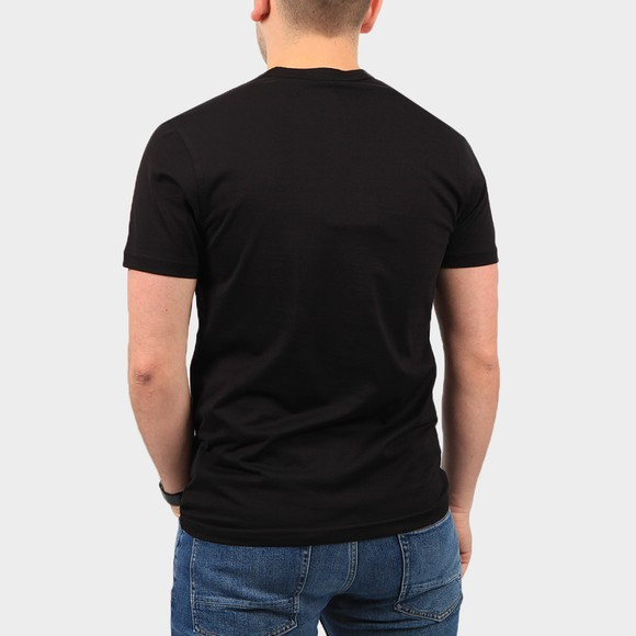 Belstaff Mens Black Patch Logo T Shirt main image