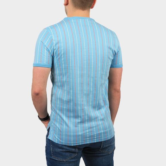 Fila Mens Blue Mica Multi Colour Stripe T Shirt main image