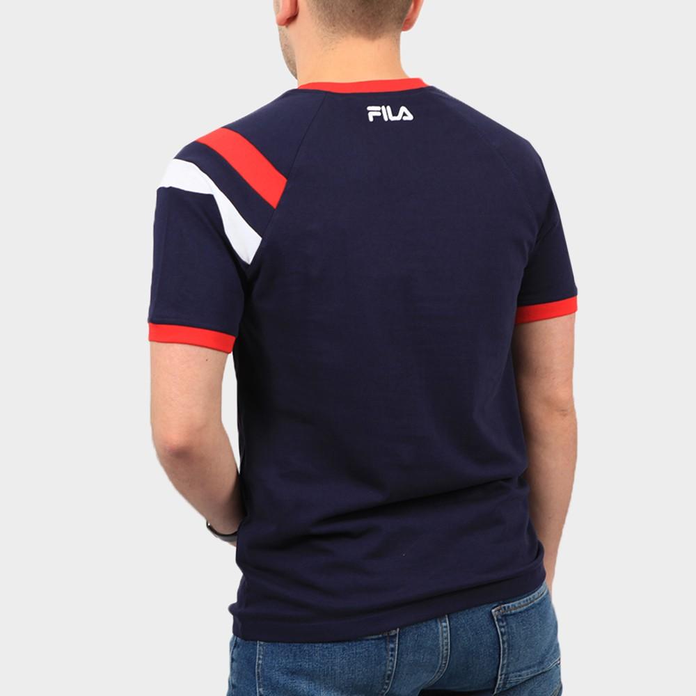 Roger Raglan Sleeve Double Stripe T Shirt main image
