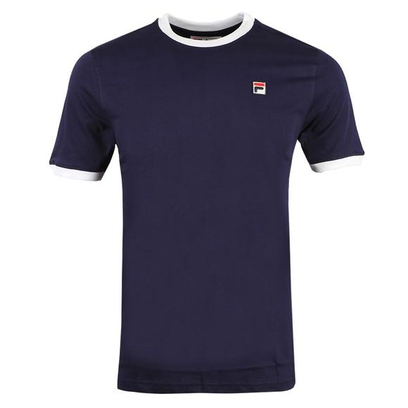 Fila Mens Blue Marconi Crew T-Shirt