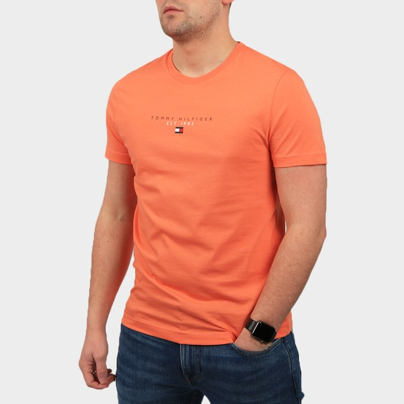 Tommy Hilfiger Mens Summer Sunset Essential Tommy T Shirt