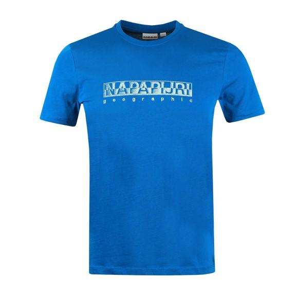 Napapijri Mens Blue Sallar T Shirt
