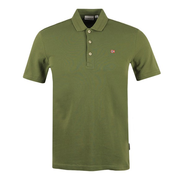 Napapijri Mens Green Ealis Polo Shirt