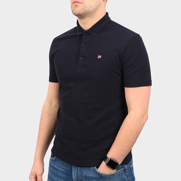 Napapijri Mens Blue Ealis Polo Shirt