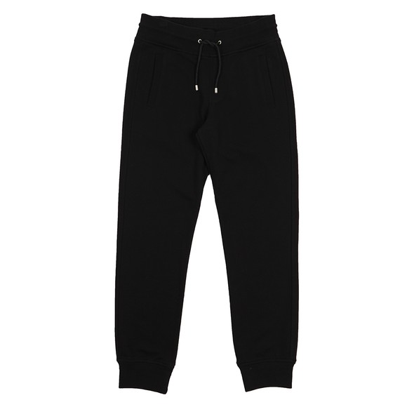 Belstaff Mens Black Back Patch Logo Sweatpant