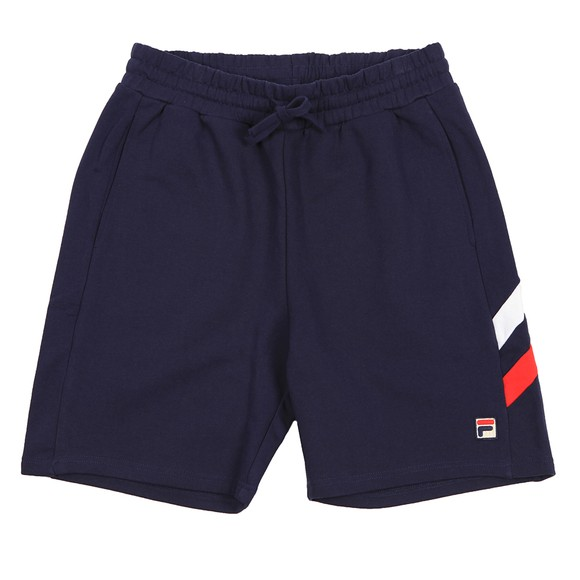 Fila Mens Blue Alley Double Stripe Short
