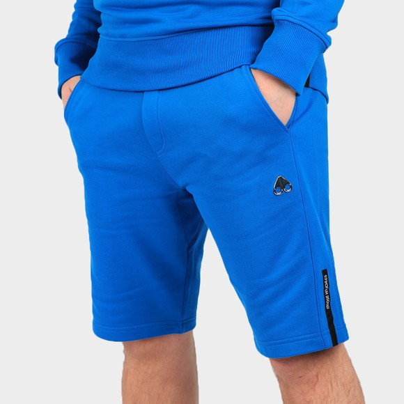 Moose Knuckles Mens Blue Light Years Jersey Short