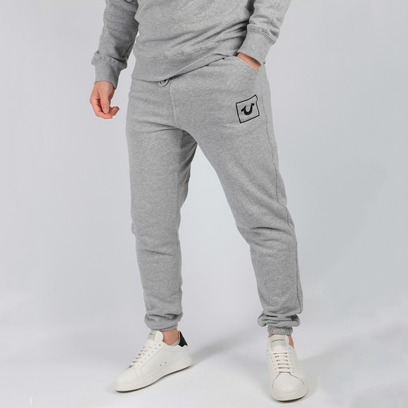 True Religion Mens Grey Great Revolt HS Jogger