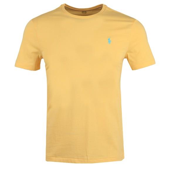 Polo Ralph Lauren Mens Yellow Custom Slim Fit T-Shirt