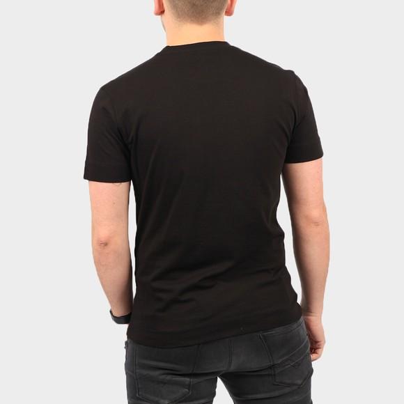 Emporio Armani Mens Black Eagle City Logo T Shirt main image