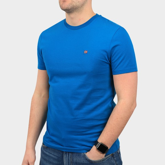 Napapijri Mens Blue Salis T Shirt