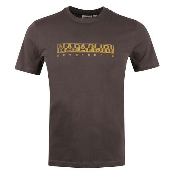 Napapijri Mens Grey Sallar T Shirt