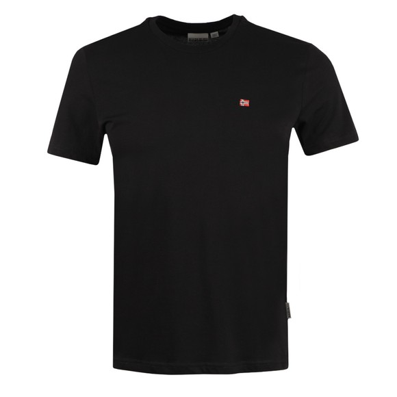 Napapijri Mens Black Salis T Shirt