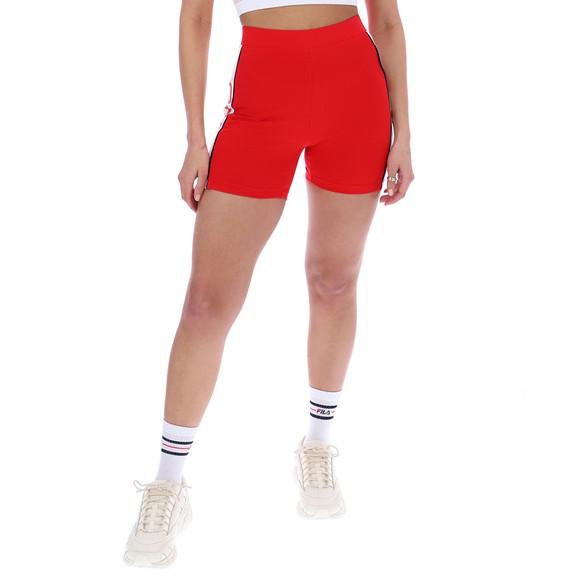 Fila Womens Red Trina Mini Shorts main image