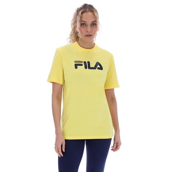 Fila Womens Yellow Eagle Graphic T-Shirt main image