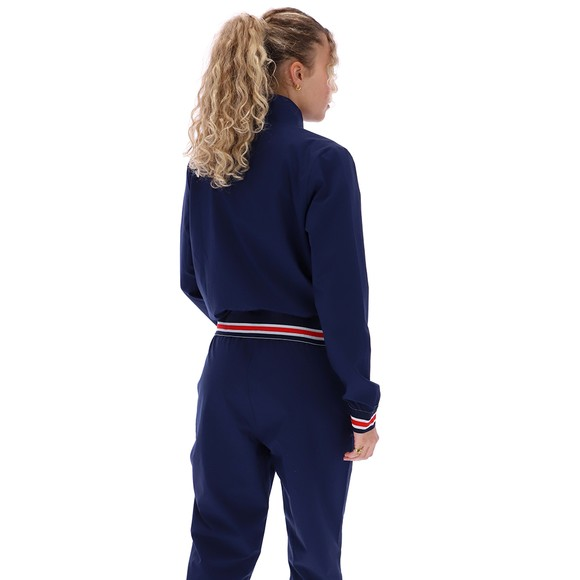 Fila Womens Blue Cadenza Funnel Neck Track Jacket main image