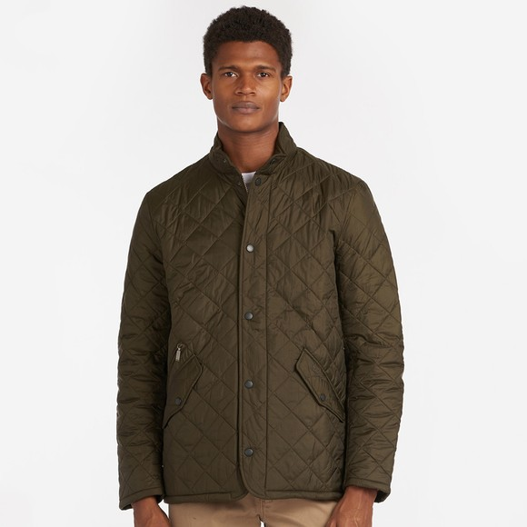 Barbour Lifestyle Mens Green Flyweight Chelsea Quilt Jacket
