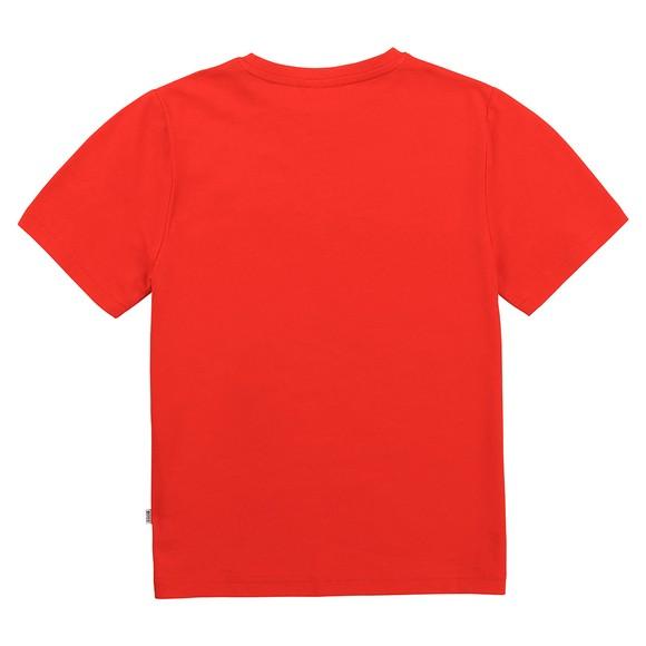 BOSS Boys Orange J25G97 Centre Logo T Shirt